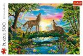 Wölfe in der Natur (Puzzle)
