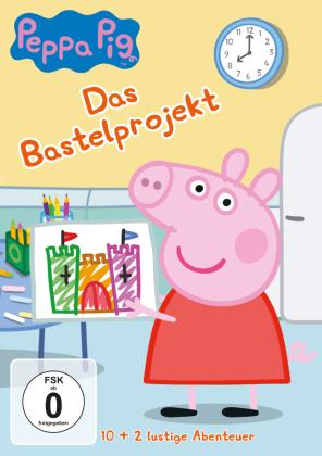 Peppa Pig - Das Bastelprojekt, 1 DVD