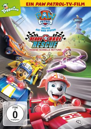 Paw Patrol: Ready Race Rescue - Rasend schnelle Rettung, 1 DVD