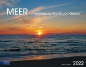 Meer 2022 Großformat-Kalender 58 x 45,5 cm