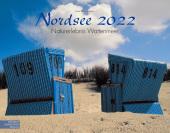 Nordsee 2022 Großformat-Kalender 58 x 45,5 cm