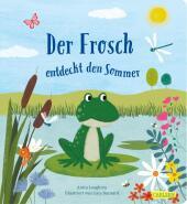 Der Frosch entdeckt den Sommer