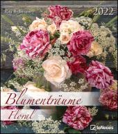 Blumenträume 2022 - Foto-Kalender - Wand-Kalender - 30x34 - Blumen-Traum