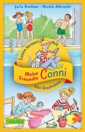 Vier Conni-Geschichten zum Lesenlernen: Conni und der Frechdachs / Conni ist nicht feige / Conni und der verlorene Drach