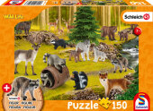 Wild Life, Bei den Waschbären (Kinderpuzzle)