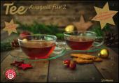 Tee-Adventskalender für Zwei 2022 - Teekalender - Adventskalender - Teesorten - Genusskalender - Advent-für-Zwei - 55,5