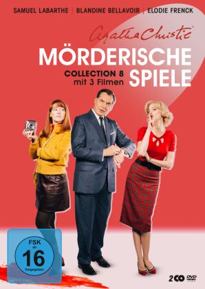 Agatha Christie - Mörderische Spiele, 2 DVD