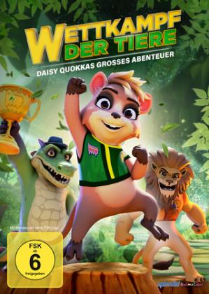 Wettkampf der Tiere - Daisy Quokkas großes Abenteuer, 1 DVD