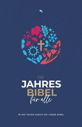 """Die Jahresbibel für alle - """"Blue Edition"""""""