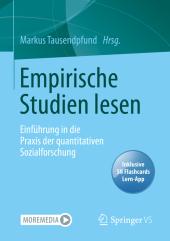 Empirische Studien lesen, m. 1 Buch, m. 1 E-Book