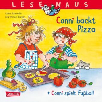 """""""Conni backt Pizza"""" + """"Conni spielt Fußball"""" Conni Doppelband"""
