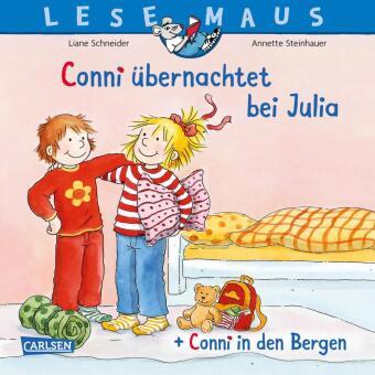 """Conni übernachtet bei Julia"" + ""Conni in den Bergen"" Conni Doppelband"