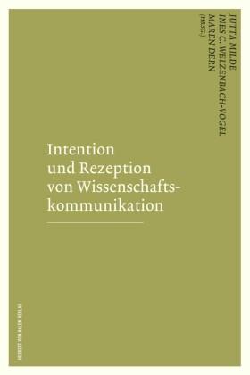 Intention und Rezeption von Wissenschaftskommunikation