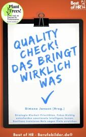 QualityCheck! Das bringt wirklich was