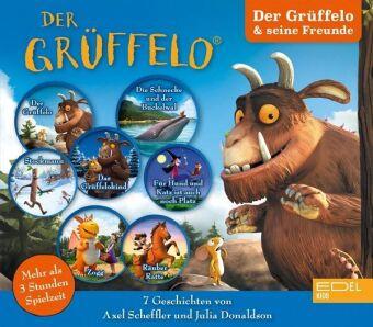 Der Grüffelo und seine Freunde, 3 Audio-CD
