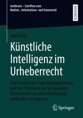 Künstliche Intelligenz im Urheberrecht