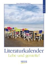 Literaturkalender Lebe und genieße! 2022 Cover