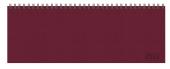 Tischquerkalender Professional Premium rot 2022