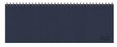 Tischquerkalender Professional Premium dunkelblau 2022