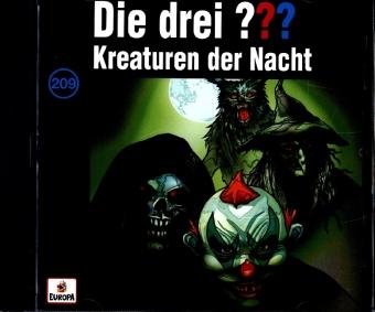 Die drei ??? - Kreaturen der Nacht, 1 Audio-CD