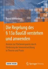 Die Regelung des   13a BauGB verstehen und anwenden