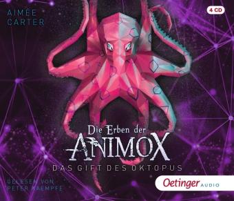 Die Erben der Animox 2. Das Gift des Oktopus, 4 Audio-CD