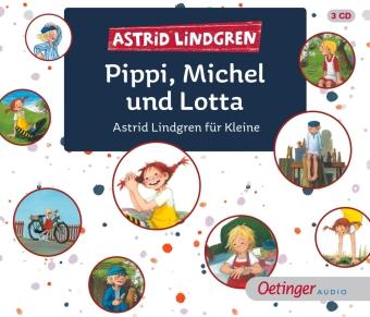 Pippi, Michel und Lotta, 3 Audio-CD