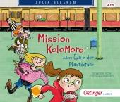 Mission Kolomoro oder: Opa in der Plastiktüte, 4 Audio-CD Cover