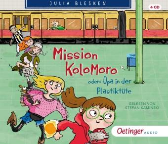Mission Kolomoro oder: Opa in der Plastiktüte, 4 Audio-CD