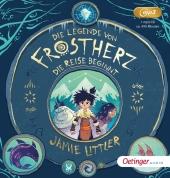 Die Legende von Frostherz 1. Die Reise beginnt, 1 Audio-CD, MP3 Cover