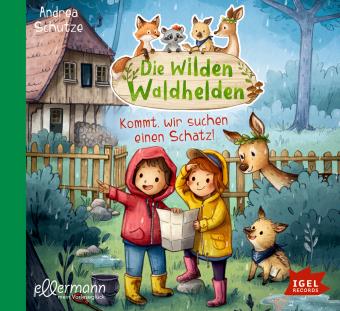 Die wilden Waldhelden - Komm, wir suchen einen Schatz!, 1 Audio-CD