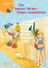 LESEMAUS zum Lesenlernen Sammelbände: Die besten Ferien-Silben-Geschichten Cover
