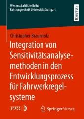 Integration von Sensitivitätsanalysemethoden in den Entwicklungsprozess für Fahrwerkregelsysteme