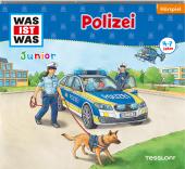 WAS IST WAS Junior Hörspiel: Polizei, Audio-CD Cover