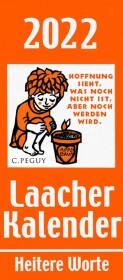Laacher Kalender Heitere Worte 2022