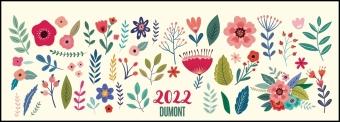 Tischquerkalender Blumenwiese 2022