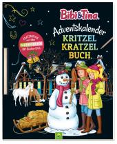 Bibi & Tina Adventskalender Kritzel-Kratzel-Buch Cover