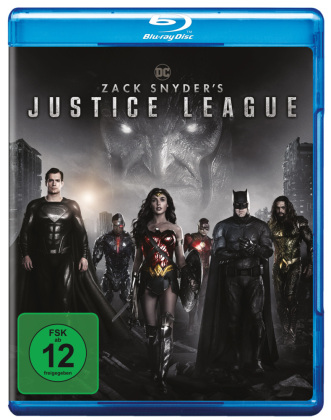 Zack Snyder's Justice League, 2 Blu-ray