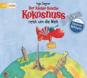 Der kleine Drache Kokosnuss reist um die Welt, 2 Audio-CD