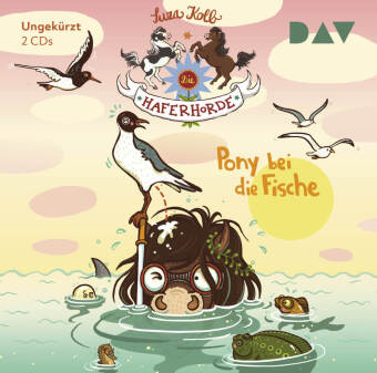 Die Haferhorde - Teil 18: Pony bei die Fische, 2 Audio-CD