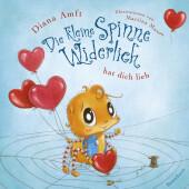 Die kleine Spinne Widerlich hat dich lieb (Pappbilderbuch) Cover