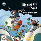Die drei ??? Kids - Tatort Skater-Park Cover