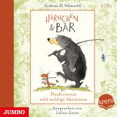 Hörnchen & Bär. Haufenweise echt waldige Abenteuer, 3 Audio-CD Cover