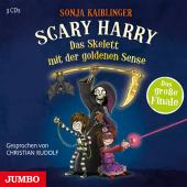 Scary Harry. Das Skelett mit der goldenen Sense, 3 Audio-CD
