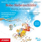 Bobo Siebenschläfer. Hurra, es schneit!, Audio-CD Cover