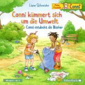 Conni kümmert sich um die Umwelt / Conni entdeckt die Bücher, 1 Audio-CD Cover