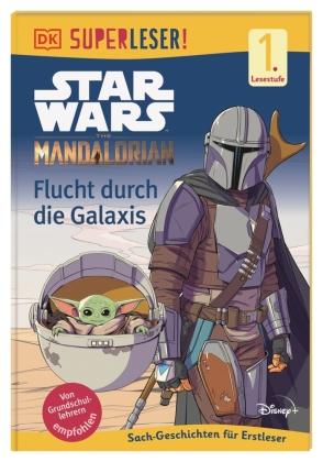 SUPERLESER! Star Wars The Mandalorian Flucht durch die Galaxis