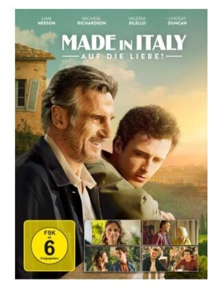 Made in Italy - Auf die Liebe!, 1 DVD