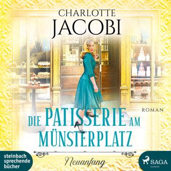 Die Patisserie am Münsterplatz - Neuanfang, 2 Audio-CD, MP3