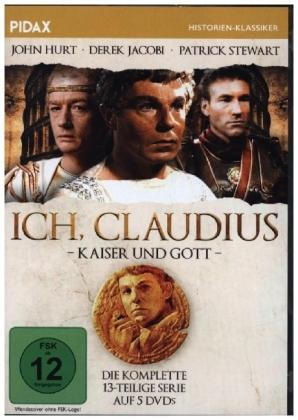 Ich, Claudius - Kaiser und Gott, 5 DVD